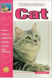 Cover of: Guide to owning a cat | Donald Vaughan