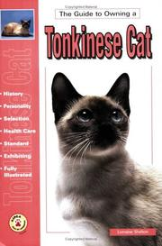 Cover of: guide to owning a Tonkinese cat | Lorraine Shelton