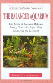 Cover of: The balanced aquarium