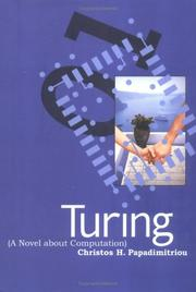 Cover of: Turing: a novel about computation