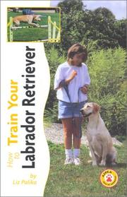Cover of: How to Train Your Labrador Retriever (Tr-103)
