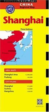 Cover of: Shanghai Travel Map | Periplus Editors