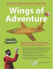 Cover of: Wings of Adventure | Andrew Dewar