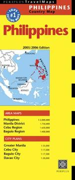 Cover of: Philippines Travel Map | Periplus