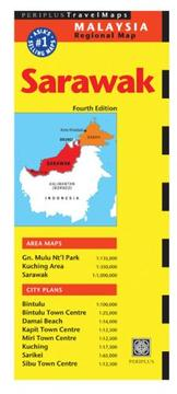 Cover of: Sarawak Travel Map (Malaysia Regional Maps) | Periplus