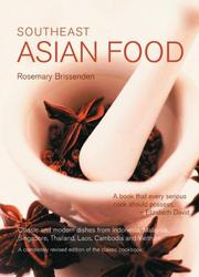 Cover of: Southeast Asian Food | Rosemary Brissenden