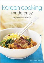 Cover of: Korean Cooking Made Easy |