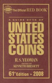 Cover of: 2008 Guide Book of Us Coins Redbook (Guide Book of United States Coins) (Guide Book of United States Coins) | R. S. Yeoman