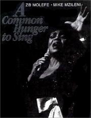 Cover of: A common hunger to sing
