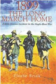 Cover of: 1899, the long march home