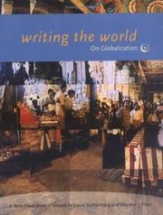 Cover of: Writing the world