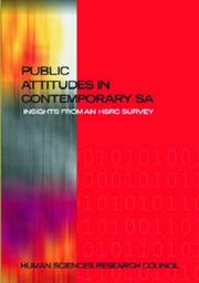 Cover of: Public attitudes in contemporary South Africa |
