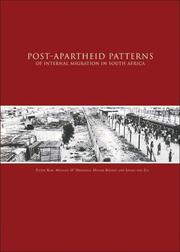 Cover of: Post-apartheid patterns of internal migration in South Africa |
