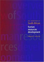 An overview of South African human resources development by Andre Kraak