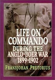 Cover of: Life on commando during the Anglo₋Boer War, 1899-1902