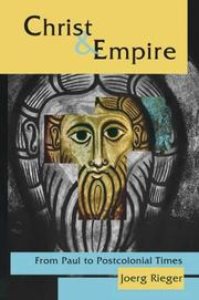 Cover of: Christ & Empire