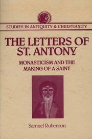 Cover of: The letters of St. Antony