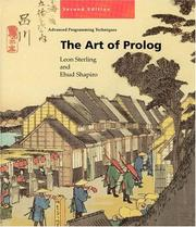 Cover of: The art of Prolog | Leon Sterling