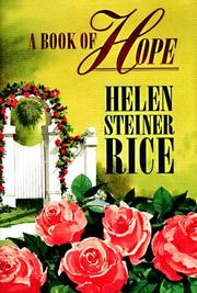 Cover of: A book of hope