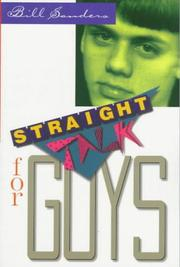 Cover of: Straight talk for guys