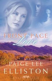 Cover of: Front page love | Paige Lee Elliston