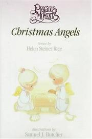 Cover of: Precious moments Christmas angels