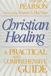Cover of: Christian healing