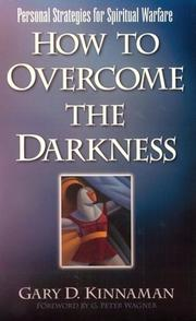 Cover of: How to overcome the darkness