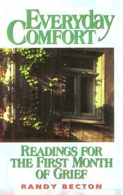 Cover of: Everyday comfort