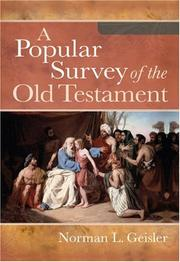 A popular survey of the Old Testament