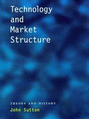 Cover of: Technology and market structure