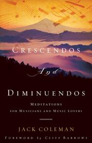 Cover of: Crescendos and Diminuendos | Jack Coleman