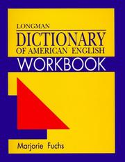 Cover of: Longman Dictionary of American English Workbook | Marjorie Fuchs