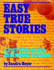Cover of: Easy true stories