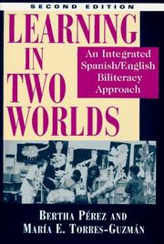 Cover of: Learning in two worlds | Bertha PeМЃrez