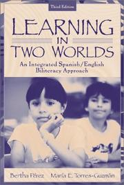 Cover of: Learning in Two Worlds | Bertha Perez