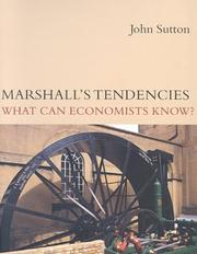 Cover of: Marshall's Tendencies | John Sutton