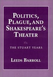 Cover of: Politics, plague, and Shakespeare