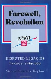 Cover of: Farewell, Revolution