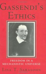 Cover of: Gassendi's ethics