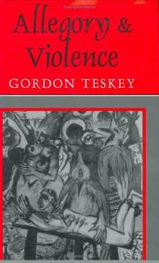 Cover of: Allegory and violence