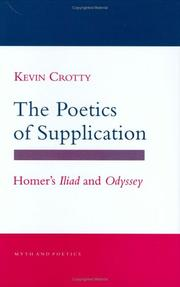 Cover of: The poetics of supplication