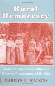 Cover of: Rural democracy