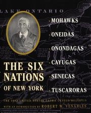 Cover of: The Six Nations of New York | Robert W. Venables