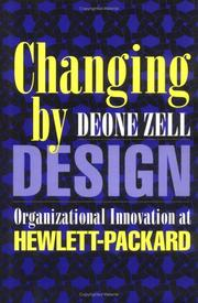 Cover of: Changing by design