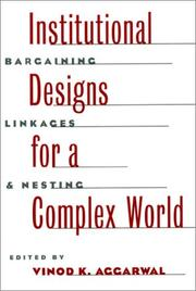 Cover of: Institutional Designs for a Complex World