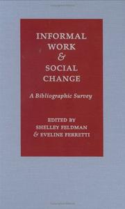 Cover of: Informal Work and Social Change |