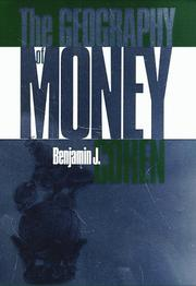 Cover of: The geography of money | Benjamin J. Cohen
