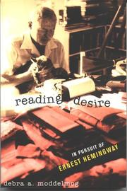 Cover of: Reading desire