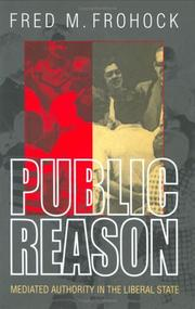 Cover of: Public Reason | Fred M. Frohock